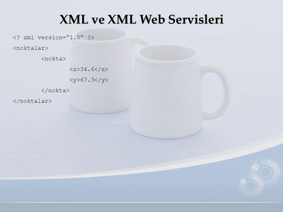 XML ve XML Web Servisleri 34.6 67.3