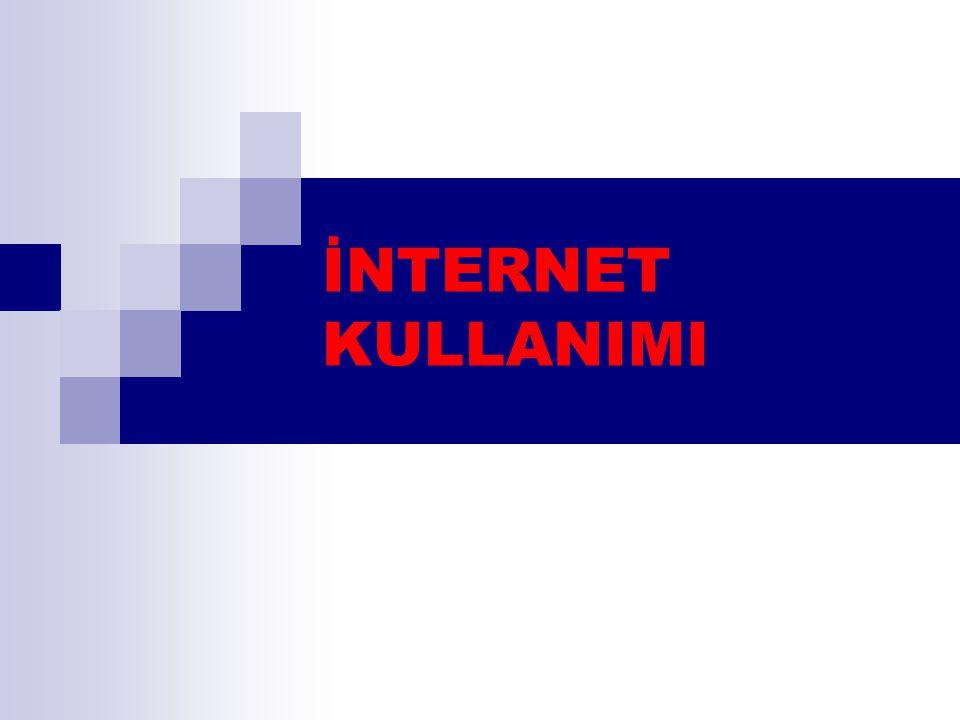 2 İçerik  İnternet Nedir.