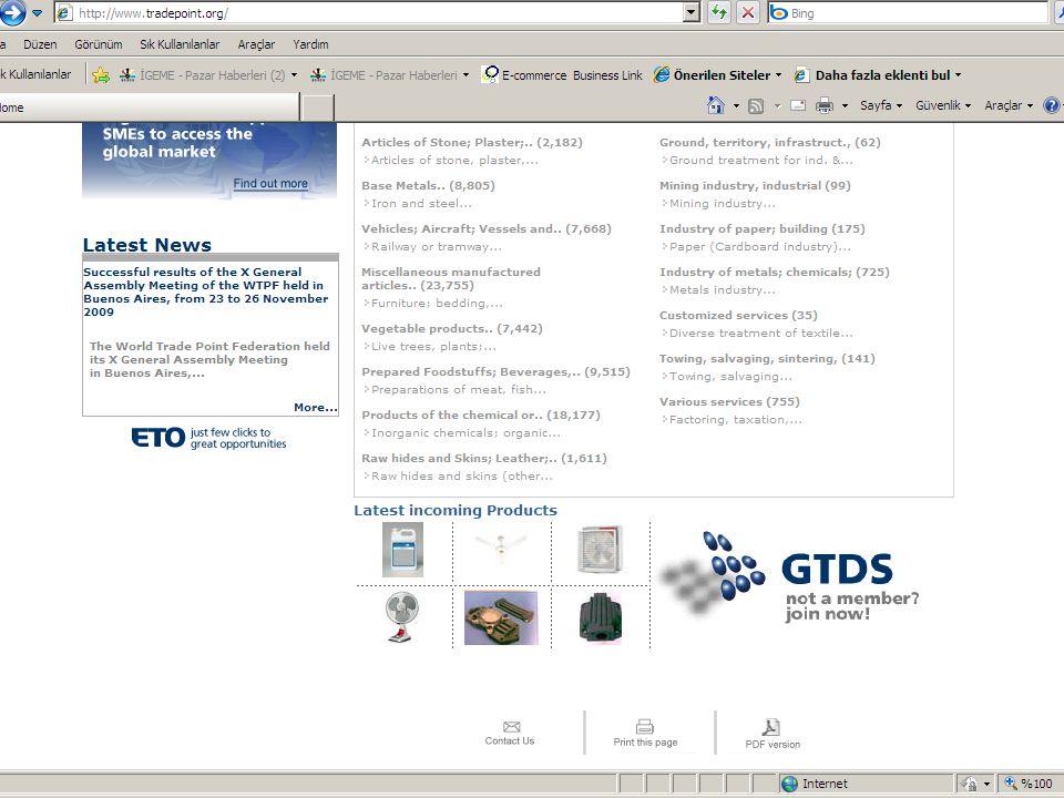 16 İGEME'nin İş Dünyasına Elektronik Ortamda Sunduğu Hizmetler 1.