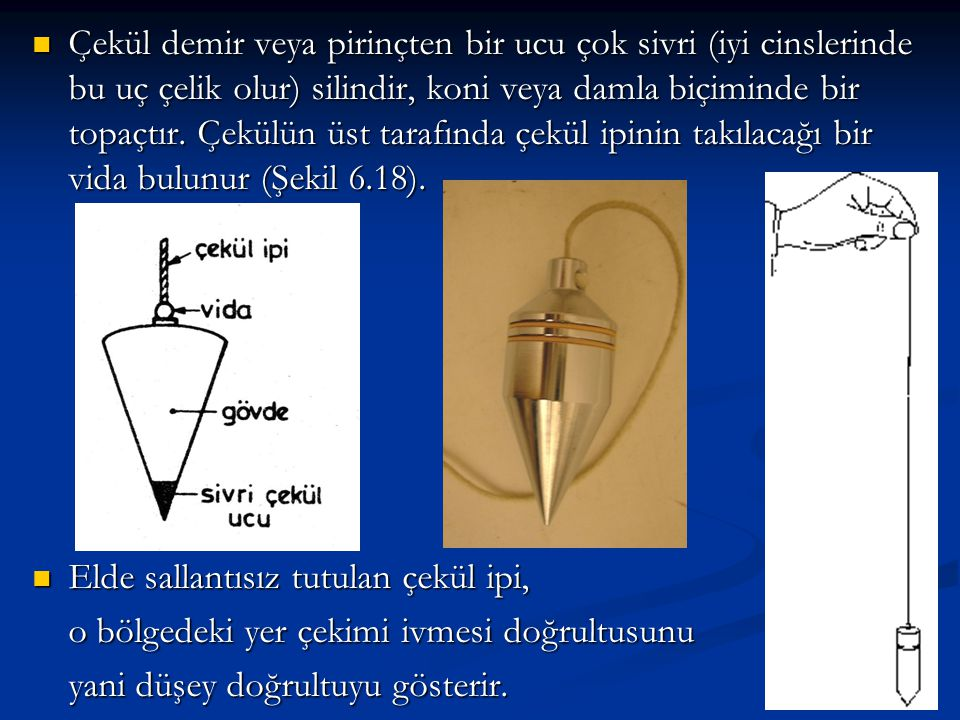 6.11.4.1 - Uzunlukların Paralaktik Açı Yöntemiyle Ölçülmesi   Uzunluğu ölçülecek bir boyun bir ucunda bir teodolit diğer ucunda da yine sehpa üzerine konulmuş yatay mira (baz latası) bulunmaktadır (Şekil 6.122).