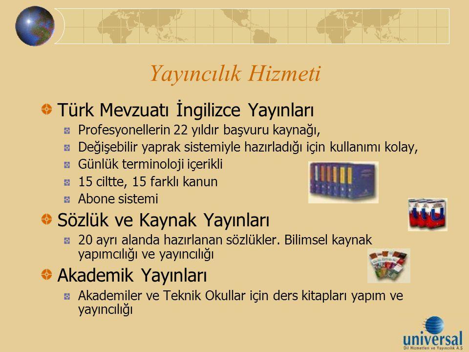 Yayıncılık Hizmeti Türk Mevzuatı İngilizce Yayınları Profesyonellerin 22 yıldır başvuru kaynağı, Değişebilir yaprak sistemiyle hazırladığı için kullan