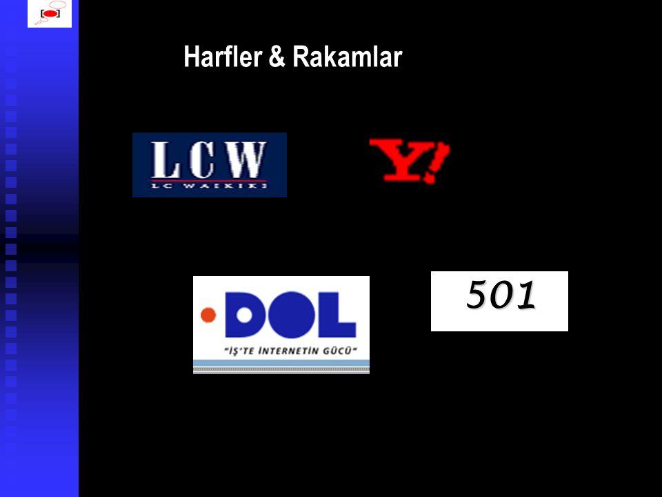 Harf/Kelime & Logo Kombinasyonu