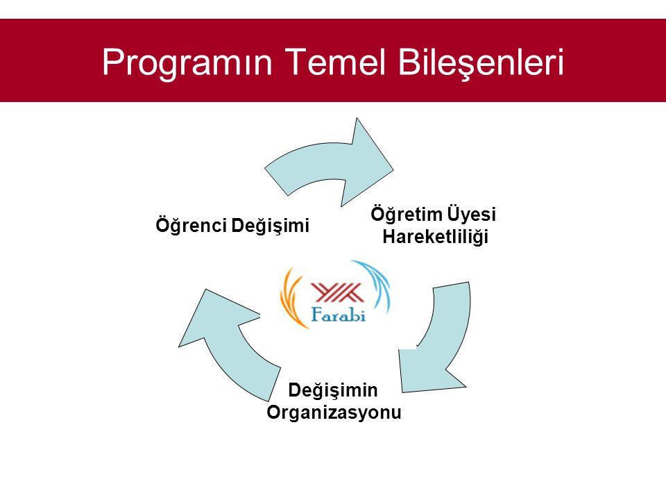 Programın Temel Bileşenleri Öğretim Üyesi Hareketliliği Değişimin Organizasyonu Öğrenci Değişimi