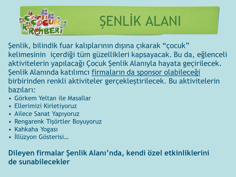 Billboardlar Şişli ve İstanbul Büyükşehir belediyelerinin desteğiyle İstanbul'un çeşitli noktalarındaki 50 adet billboardta fuar Tanıtımları yapılacak Afişler Şenlik tanıtımı kapsamında bastırılacak 10.000 adet afiş, şehrin farklı noktalarına asılacak.