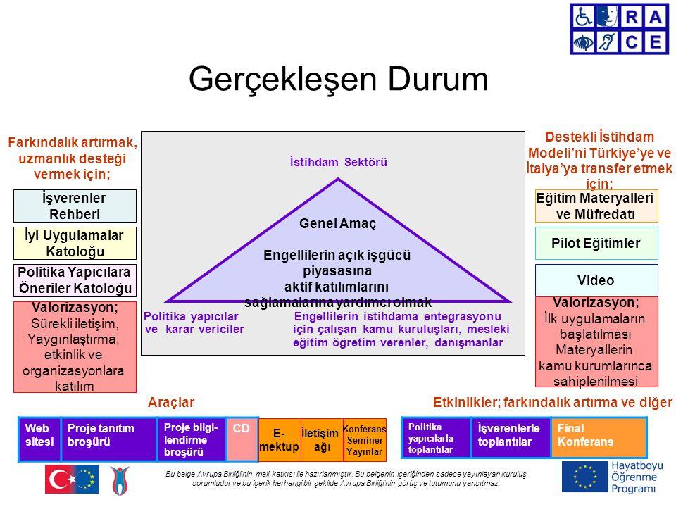 Bu belge Avrupa Birliği'nin mali katkısı ile hazırlanmıştır.