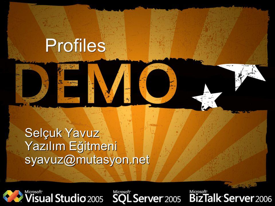 Profiles Selçuk Yavuz Yazılım Eğitmeni syavuz@mutasyon.net