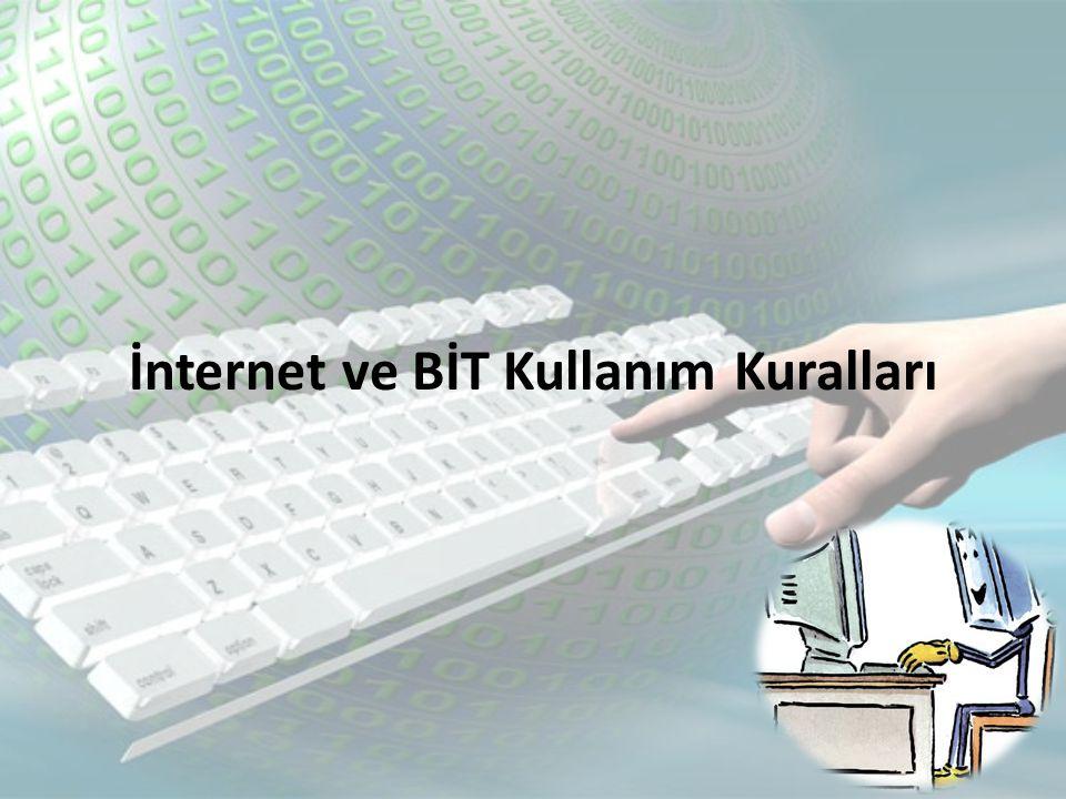 • İnternet artık günümüzde toplumsal hayatın bir parçası haline geldi.