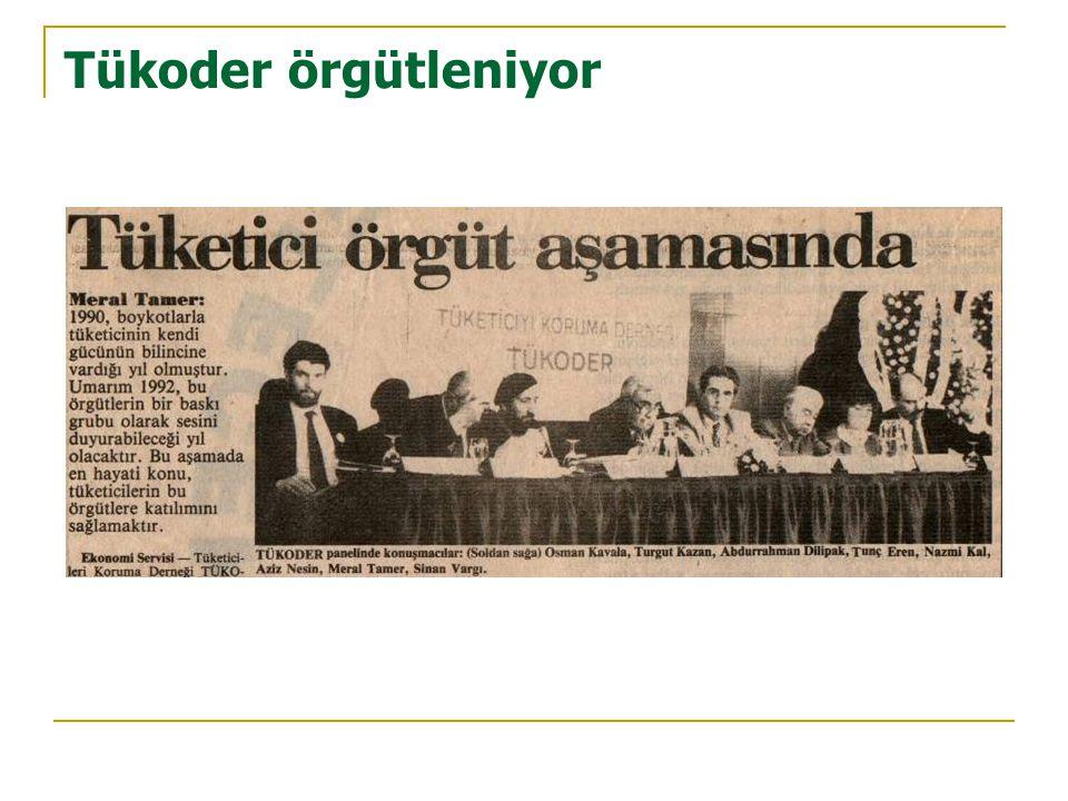 Proje faaliyetleri  Beşiktaş Belediyesi'nin koordinasyonunda muhtarlıklar, zabıta karakolları ve belediye kültür merkezlerinde tüketici hakları konusunda farkındalık yaratıcı faaliyetlerde bulunuldu.