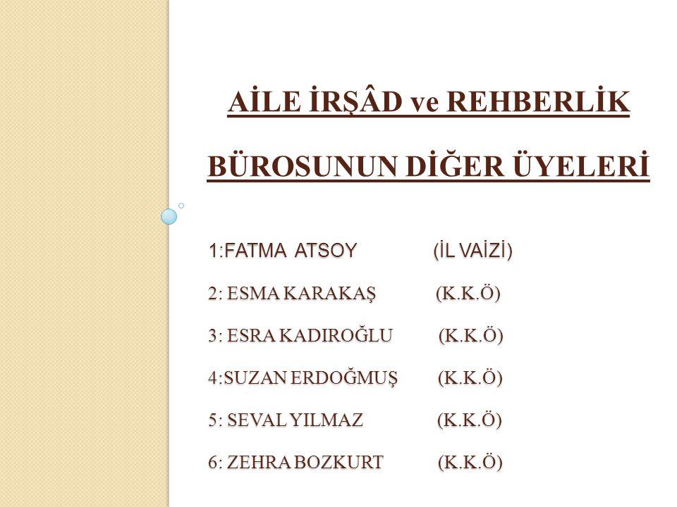 AİRB BÜROLARININ GÖREVLERİ (IV) 10.