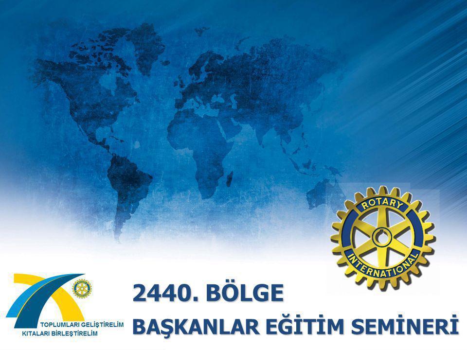 KULÜP ve BÖLGE LİDERLERİ İLE ÇALIŞMA Rotary Programlarından Sorumlu Bölge Sekreteri Rtn Aslı MUSAL