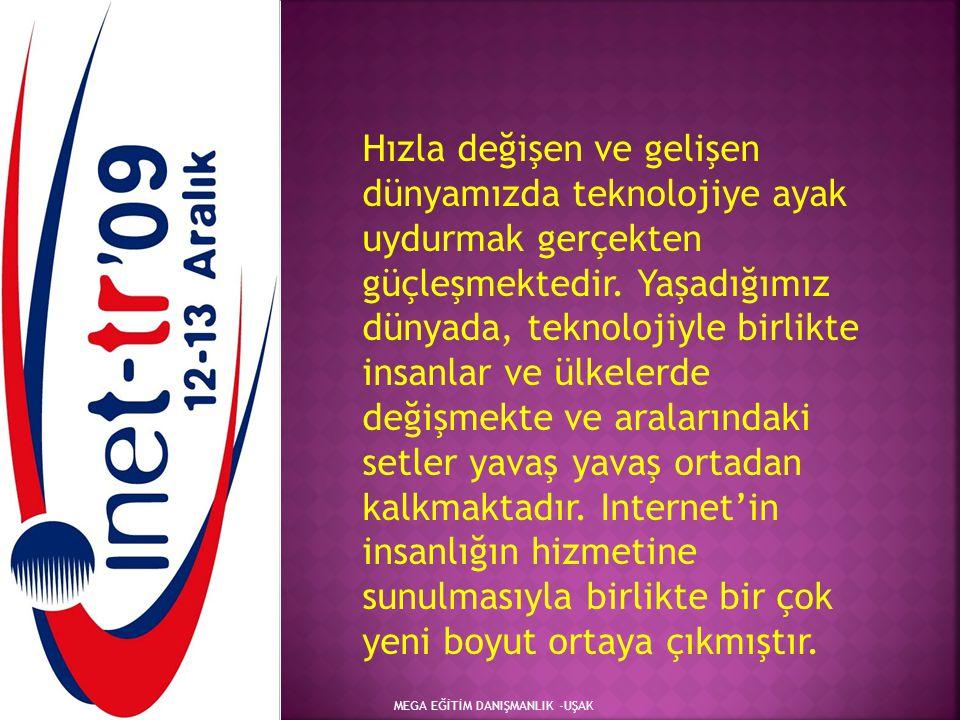 MEGA EĞİTİM DANIŞMANLIK -UŞAK KAYNAKÇA 1.DÜNDAR S., Ecer F., Özdemir Ş.