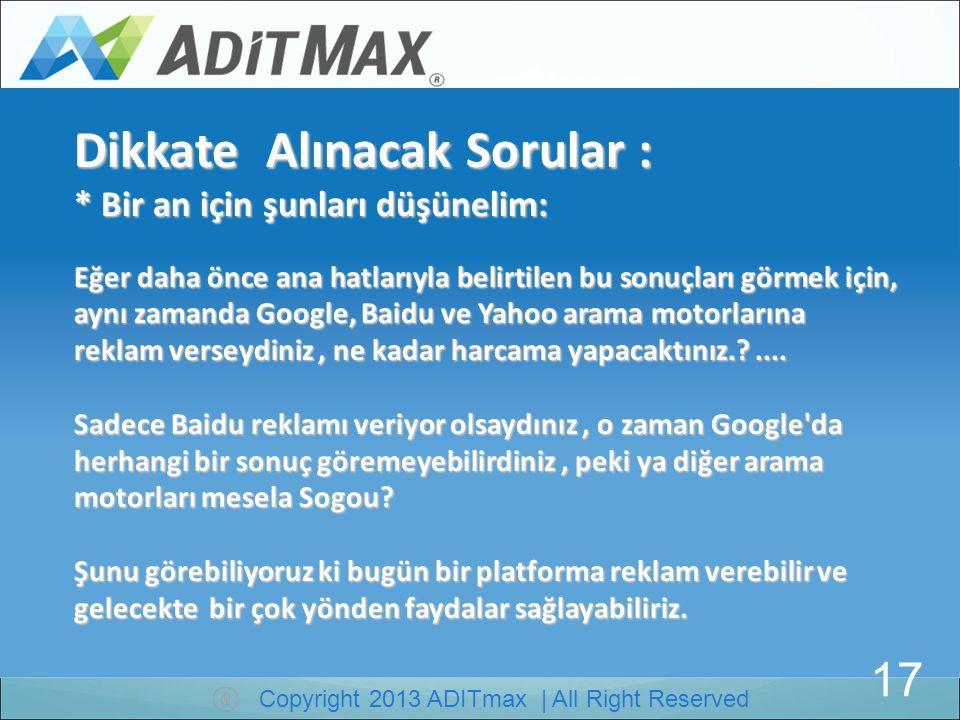 Copyright 2013 ADITmax | All Right Reserved Websitesinin 1 ay sonraki sıralalaması 30 Haziran dan 29 Temmuza kadar Sadece 1 ay sonra kayda değer sonuç