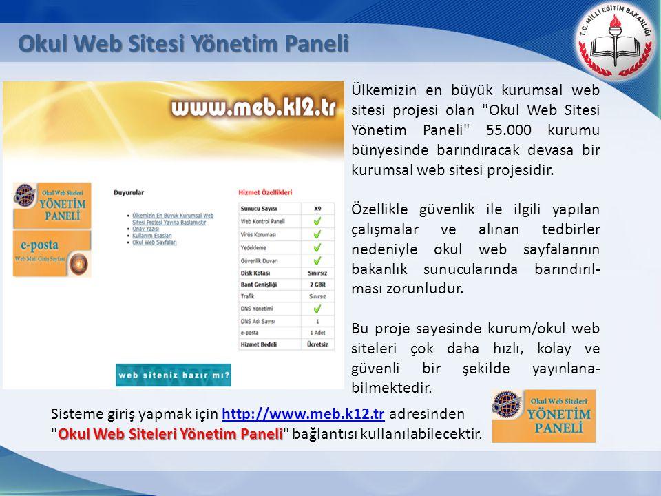 Ülkemizin en büyük kurumsal web sitesi projesi olan