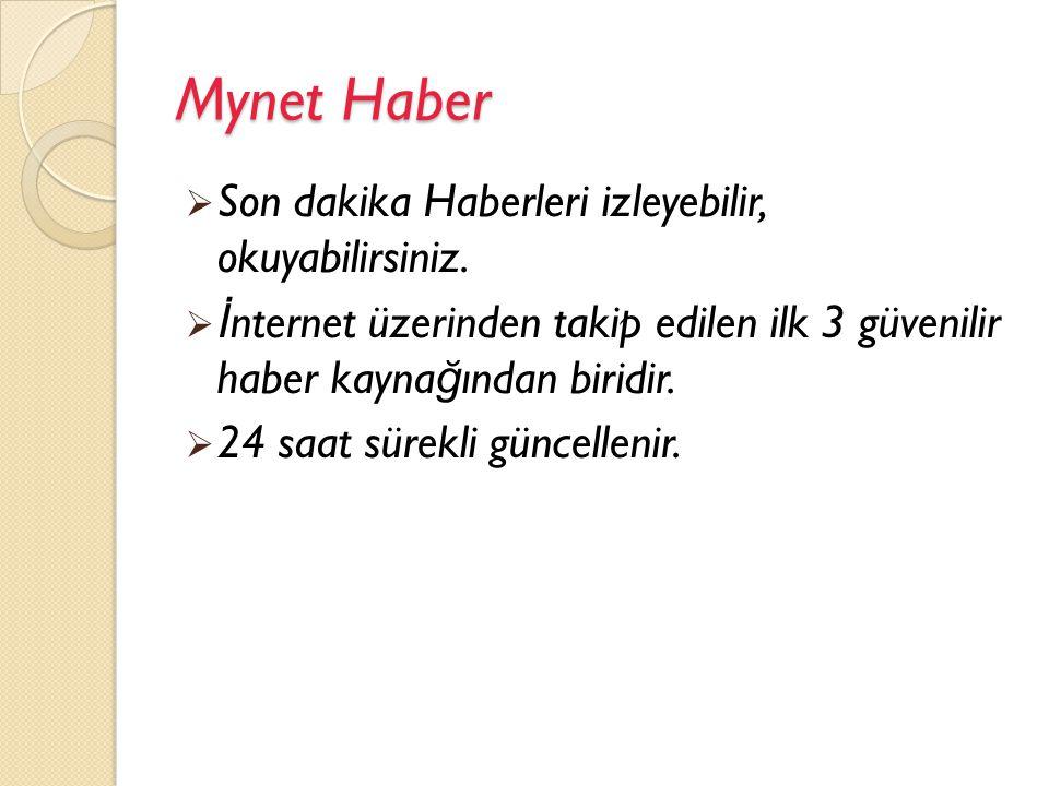 Mynet E-mail