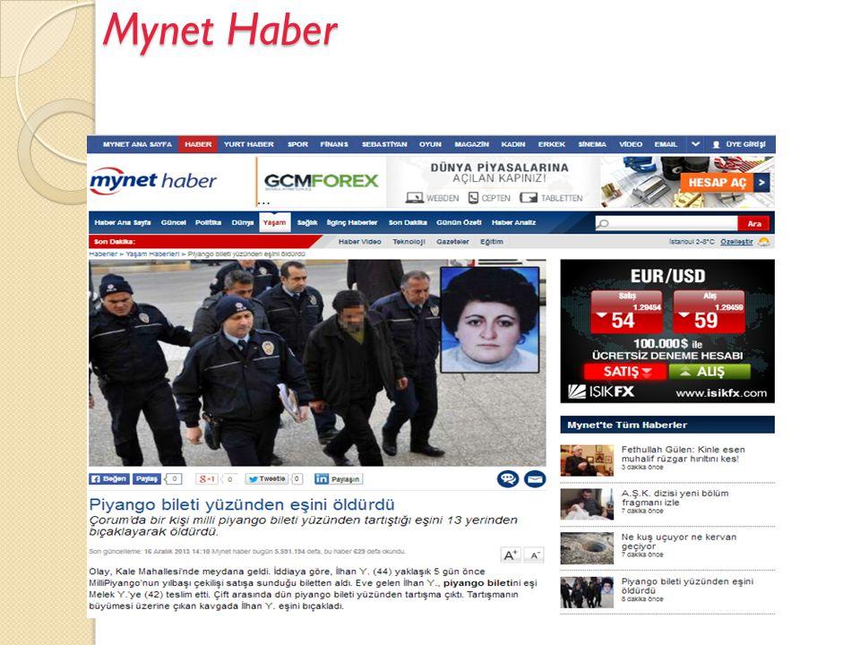 Mynet Haber  Son dakika Haberleri izleyebilir, okuyabilirsiniz.