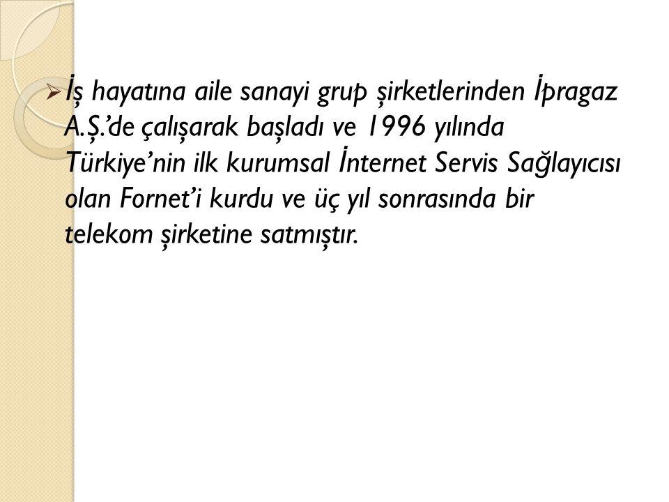  1967 Adana do ğ umludur. Mynet Grubu'nun kurucusu ve başkanıdır.