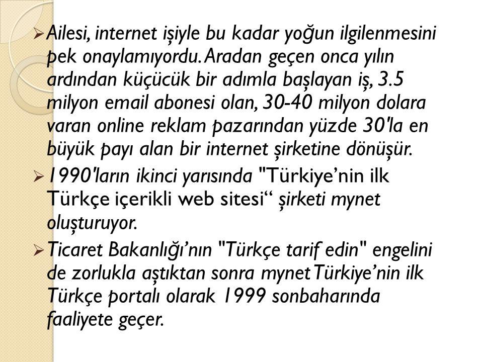 Mynet girişimi:  Fornet, kısa sürede Türkiye'nin en büyük kurumsal ISP'si haline geldi.