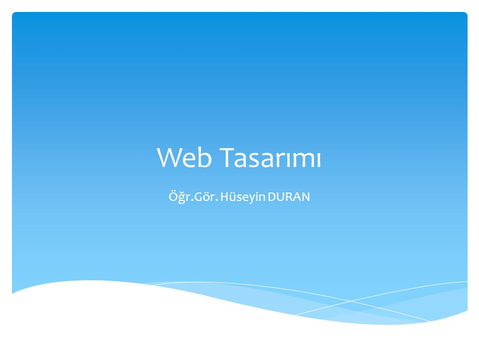  Belge Biçim Etiketleri (Document Formatting Tags)  HTML çok sayıda biçimlendirme etiketi sunar.