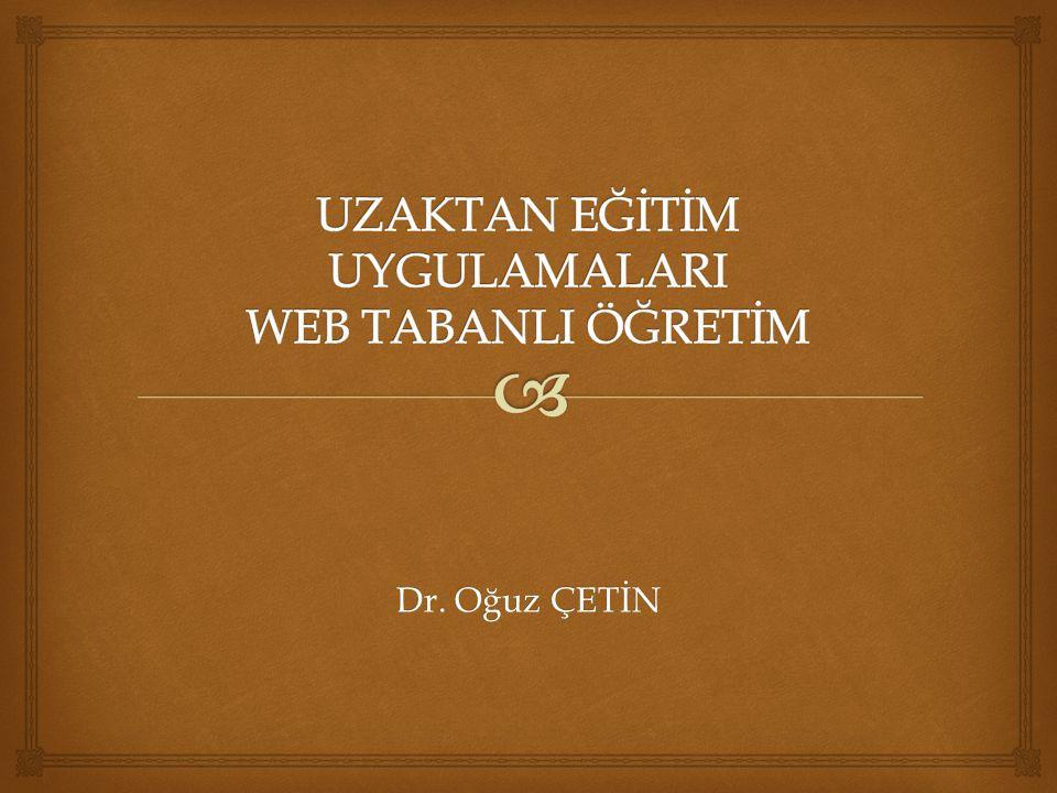 Dr. Oğuz ÇETİN