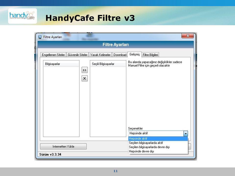 HandyCafe Filtre v3 11