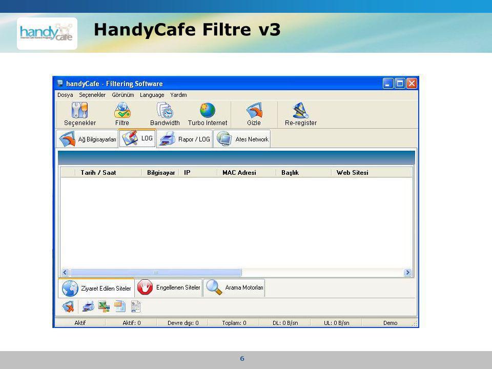 HandyCafe Filtre v3 6