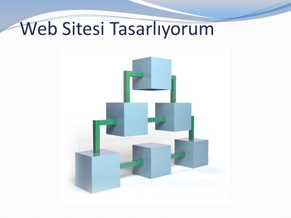 Web Sitesi Tasarlıyorum