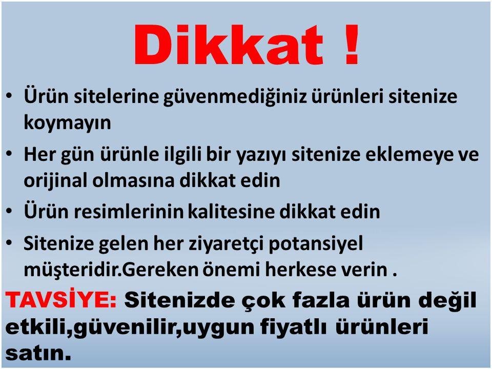 PEKİ NEDEN HERKES SATIŞ ORTAKLIĞINDAN PARA KAZANAMAZ .