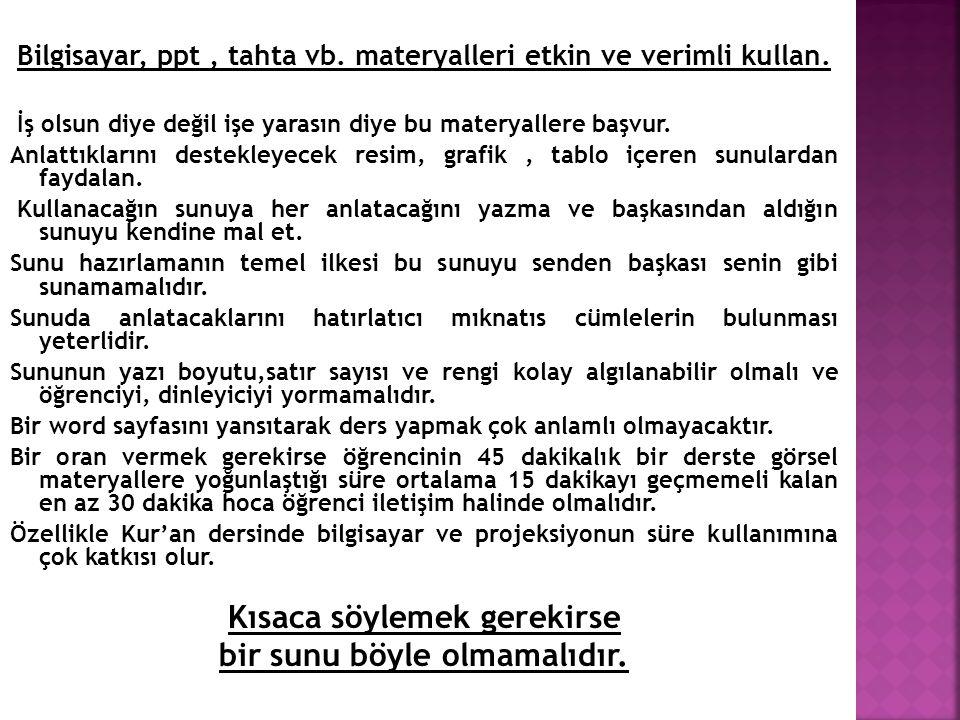  Süleyman AKYÜREK >> Din Öğretimi, Nobel Yay.
