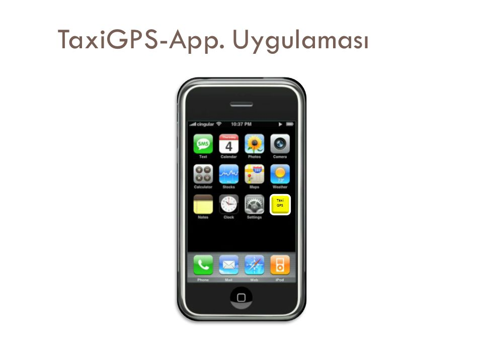 TaxiGPS-App. Uygulaması