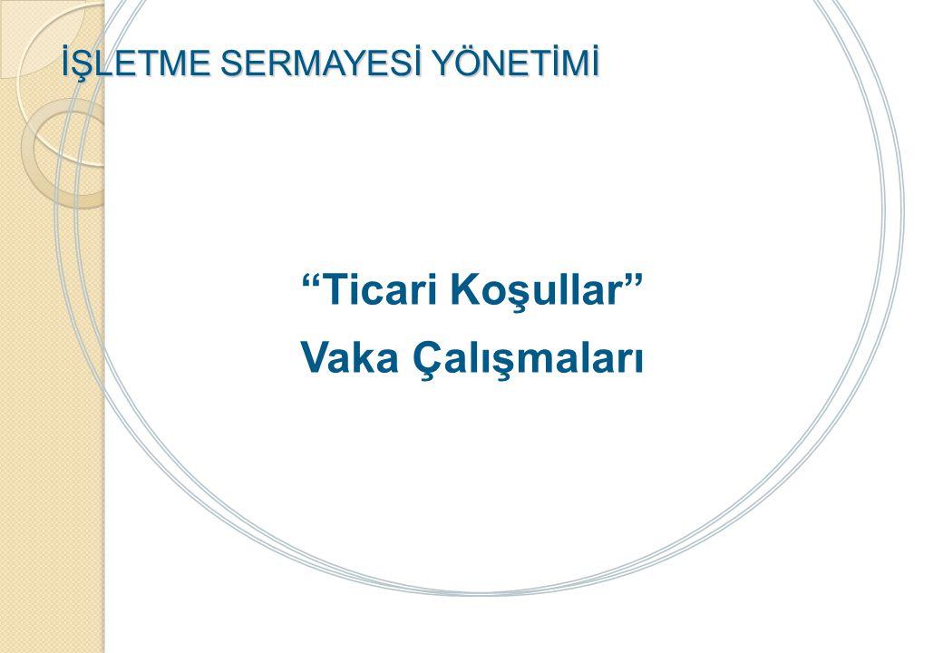 VAKA ÇALIŞMASI E ECZANESİ, 2011 YILI FİNANSAL ANALİZ