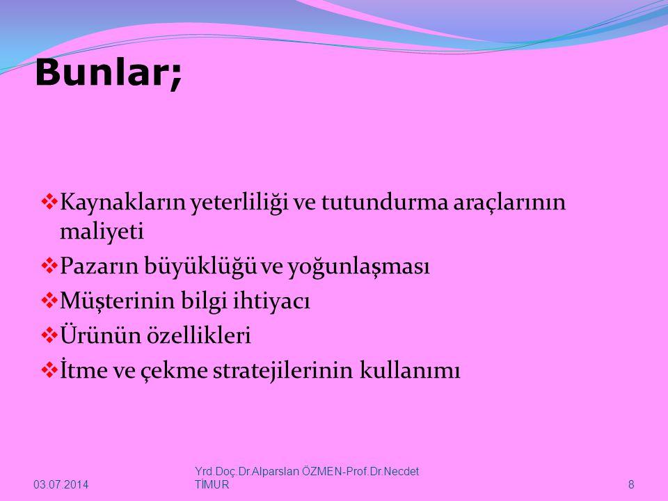 03.07.2014 Yrd.Doç.Dr.Alparslan ÖZMEN-Prof.Dr.Necdet TİMUR 49  Haber kuşakları, izleyiciler tarafından daha çok dikkatle takip edilmektedir.