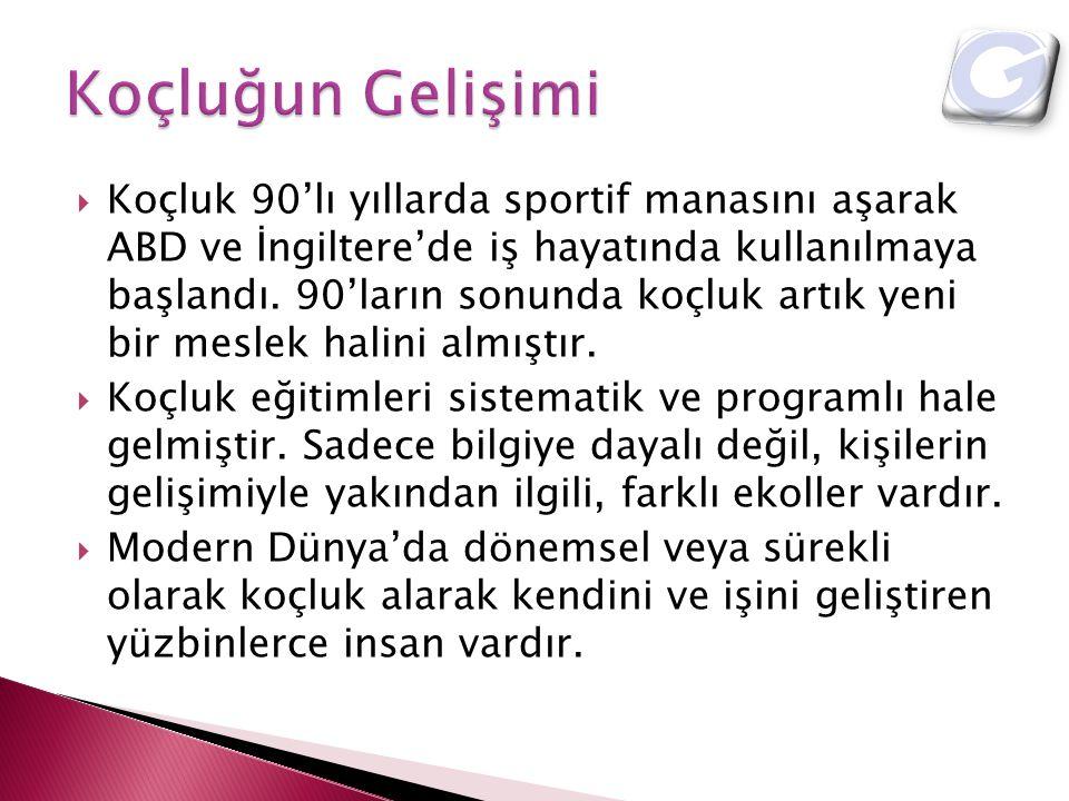  Profesyonel koçluk yöntemi kullanılarak, İngilizce olarak verilen bu hizmette amaç, Türkiye'de görev yapmak üzere atanmış yabancı yöneticilerin ve eşlerinin, Türkiye'ye ve Türk kültürüne alışmasına yardımcı olmak ve desteklemektir.