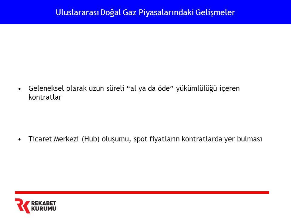 Türkiye Doğal Gaz Piyasaları Serbestleşme Sürecinde Öne Çıkan Hususlar Toptan satışta rekabetin oluşturulması •Yatay seviyede rekabet •Dikey bütünleşme •Altyapıya ilişkin düzenlemeler •Üçüncü tarafların erişimi •Dengeleme •Şeffaflık •Talep yapısına ilişkin değerlendirmeler •Elektrik santrallerine yapılan satışlar bakımından •Dağıtım şirketlerine yapılan satışlar bakımından •Devletin rolü bakımından BOTAŞ'a ilişkin davranışsal ve yapısal değerlendirme