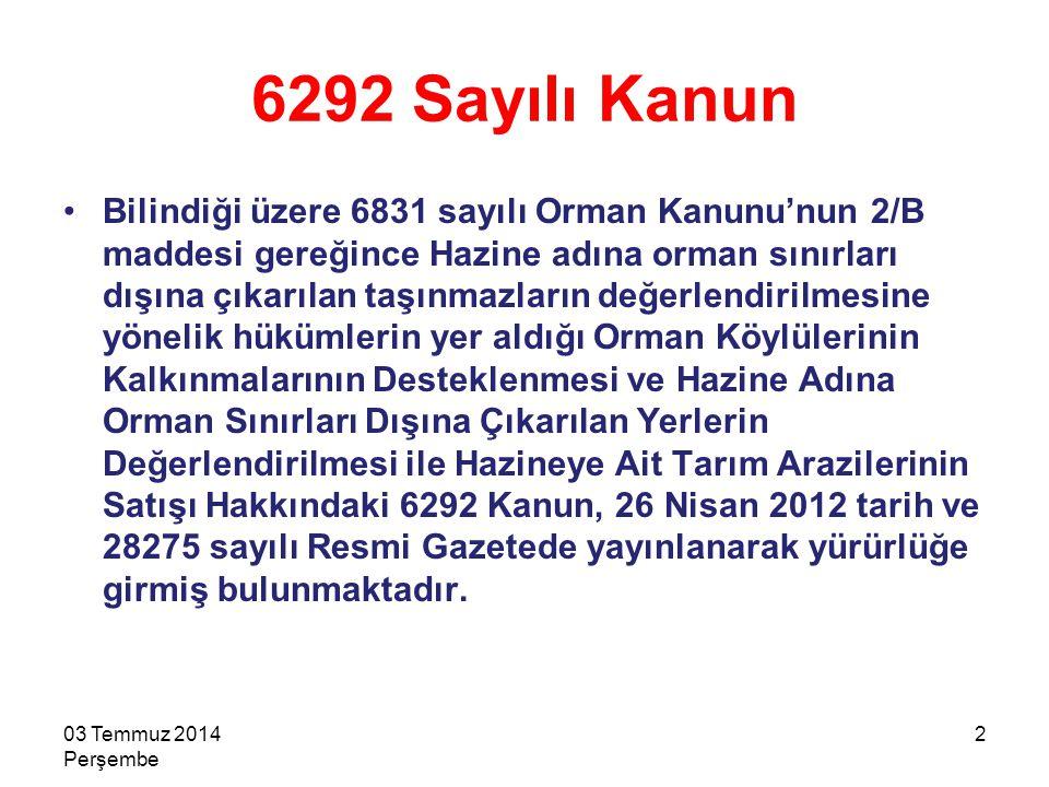 23 DAVALARLA İLGİLİ İŞLEMLER 2303 Temmuz 2014 Perşembe 2-A alanları için orman sınırları dışına çıkartma ile orman sınırlandırması, tespit, tefrik ve tescil işlemlerine karşı yapılan itirazlar ve açılan davalar, bu tasarıya göre yapılacak işlemleri durdurmayacak, davalarda yürütmeyi durdurma ve tedbir kararı verilemeyecektir.