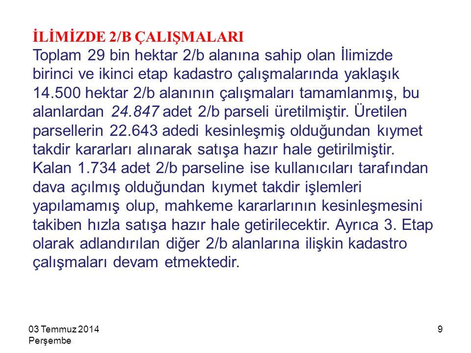 03 Temmuz 2014 Perşembe 30 ORMAN İÇİNDEKİ TESİSLER Tapuda kişiler adına kayıtlıyken, orman sınırları içerisinde kaldığı için tapuları iptal edilen yerler üzerinde bulunan ve 31 Aralık 2011 tarihinden önce müsaderelerine karar verilen, Orman Genel Müdürlüğü sabit kıymetlerine alınan tesislerden Türk Ticaret Kanunu kapsamında fabrika veya ticarethane niteliğindeki tesisler, öncelikle kullanıcılarına olmak üzere 29 yıla kadar kiraya verilebilecektir.
