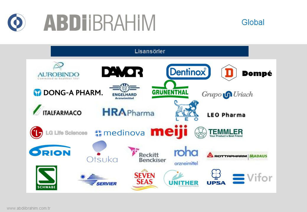 Lisansörler www.abdiibrahim.com.tr Global