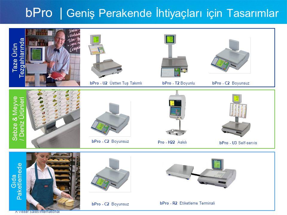 A Visser Sales International bPro | Geniş Perakende İhtiyaçları için Tasarımlar bPro - U2 Üstten Tuş Takımlı Taze Ürün Tezgahlarında Sebze & Meyve / D