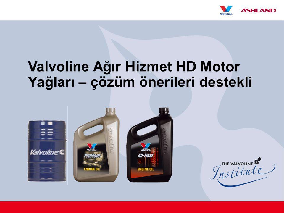 Valvoline Ağır Hizmet HD Motor Yağları – çözüm önerileri destekli