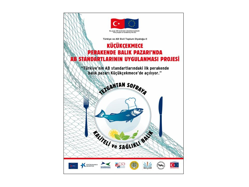 Küçükçekmece Perakende Balık Pazarı'nda AB Standartlarının Uygulanması Projesi Küçükçekmece Perakende Balık Pazarı