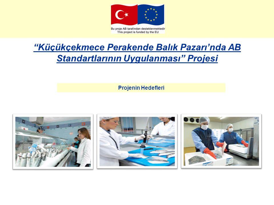 """""""Küçükçekmece Perakende Balık Pazarı'nda AB Standartlarının Uygulanması"""" Projesi Projenin Hedefleri"""