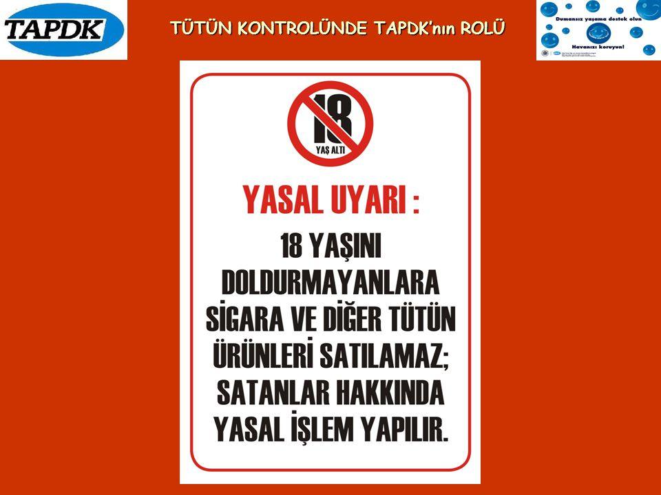 Tütün ürünleri tüketimine tahsis edilen alanlarda bulunması gereken sağlık uyarıları: 1.