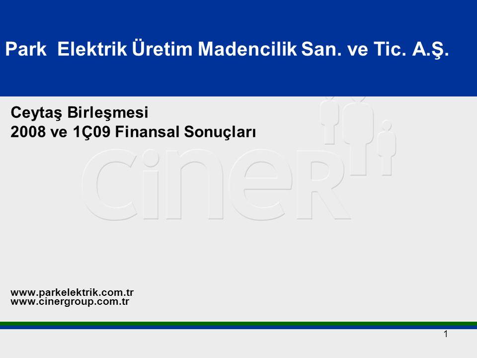 12 Park Elektrik'in Mevcut ve Planlanan Tesisleri  (B) Siirt, Madenköy Bakır Madeni 2006'nın son çeyreğinde maden çıkartılmaya başlandı.