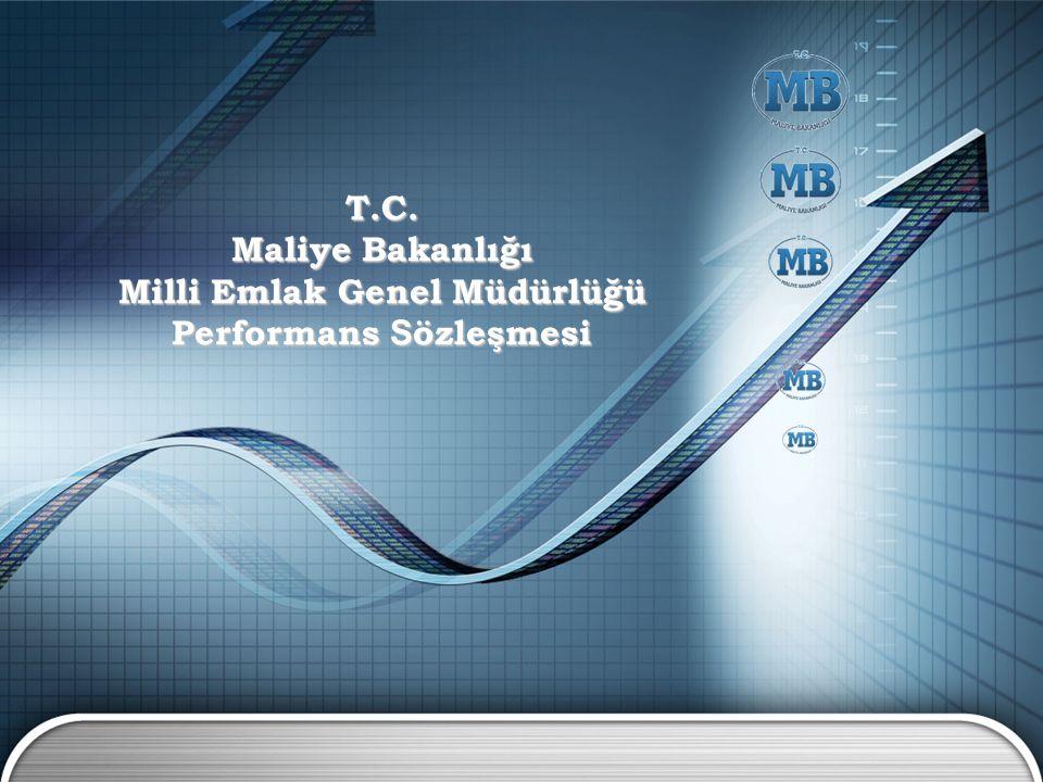 T.C. Maliye Bakanlığı Milli Emlak Genel Müdürlüğü Performans S özleşmesi