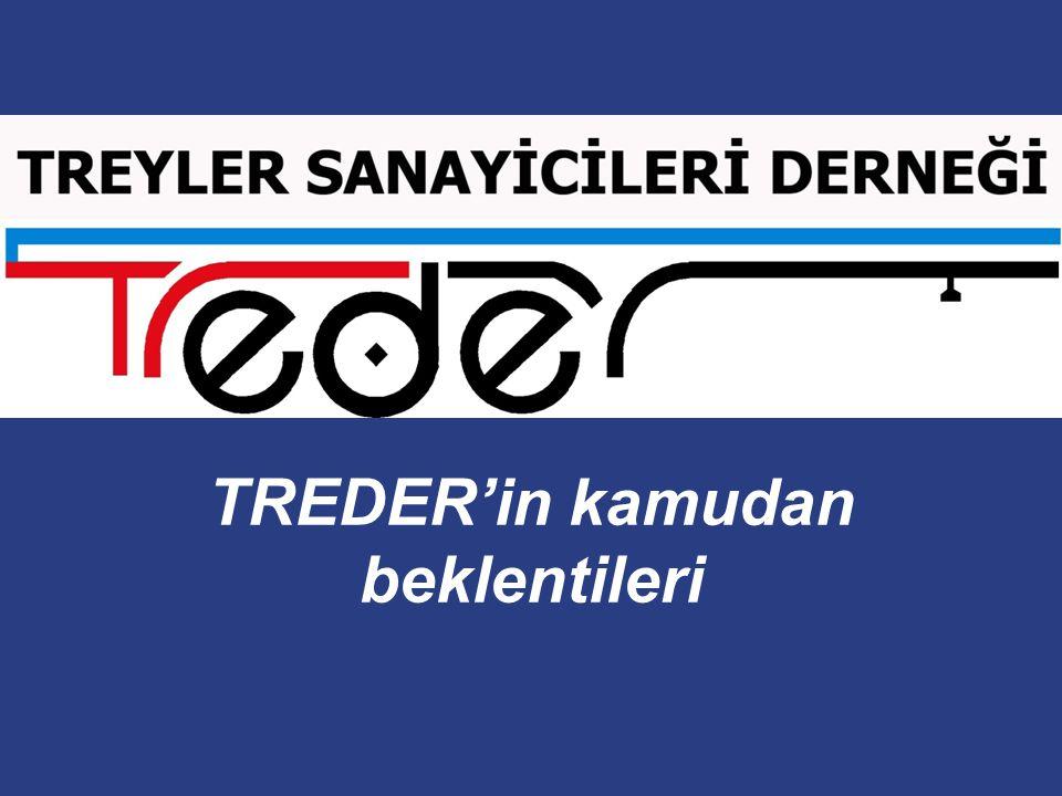 TREDER'in kamudan beklentileri