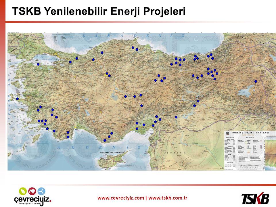 www.cevreciyiz.com | www.tskb.com.tr TSKB Yenilenebilir Enerji Projeleri