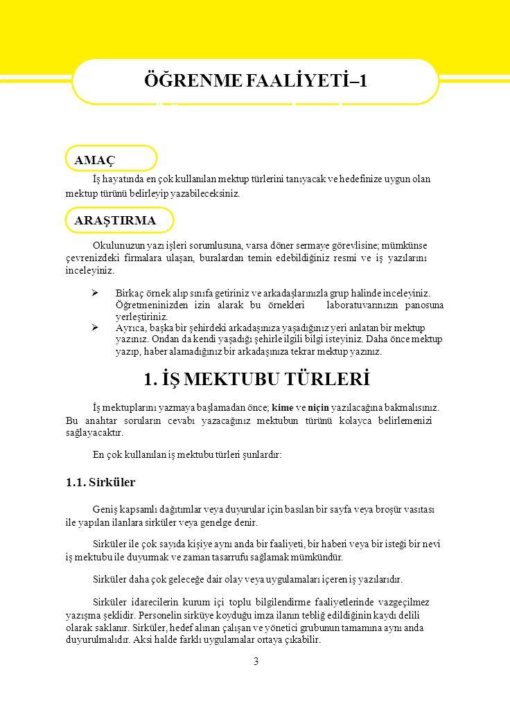 Alındığını Bildirme ve Teşekkür Mektubu Örneği DERMAN TIP MERKEZİ Kurtuluş Caddesi 35 / 9 Avcılar / İSTANBUL Sayı: 2007/BK.0140 23/10/2007 Gülgün Mutlu Eczacıbaşı İlaç Sanayi Avcılar / İSTANBUL Sayın Mutlu, Hastanemizin açılışında göstermiş olduğunuz ilgi ve yardımlarınızdan dolayı çalışanlarımız ve şahsım adına teşekkürlerimizi sunar, işlerinizde başarılar dileriz.