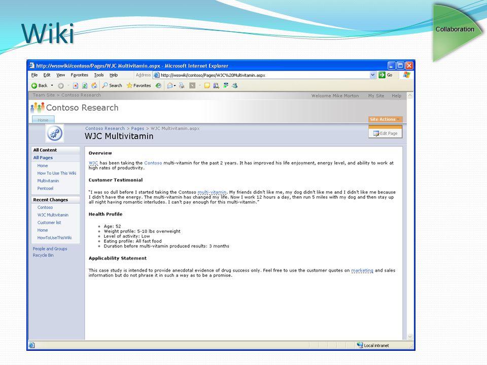 Wiki Collaboration