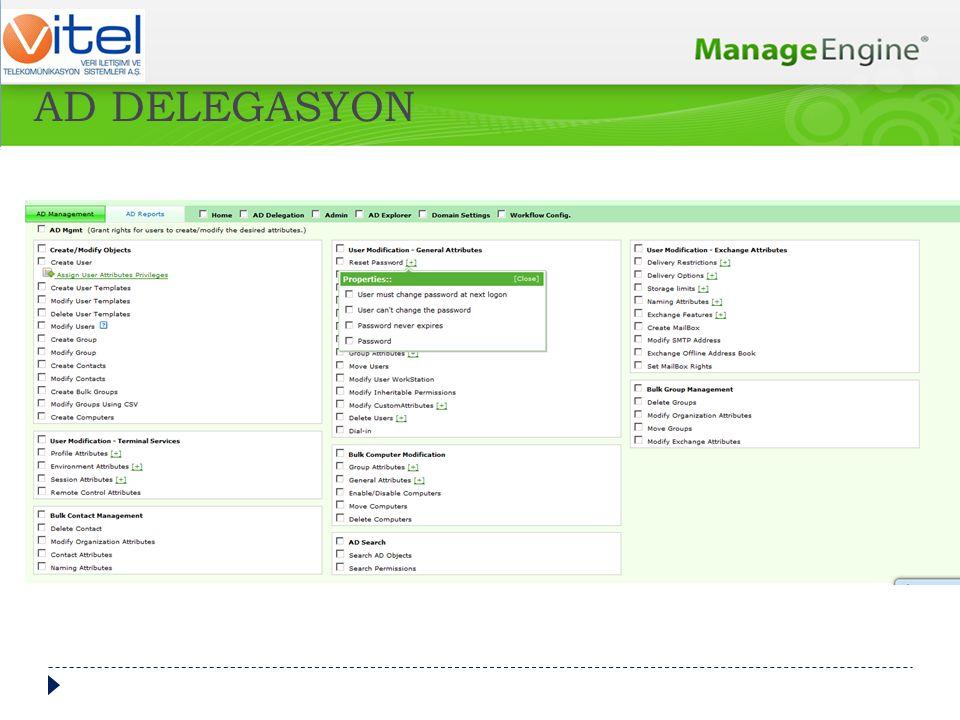  Security-Audit-Compliance  Change Management  Kim, Nerede, Ne Zaman, Neyi ? AD AUDIT PLUS