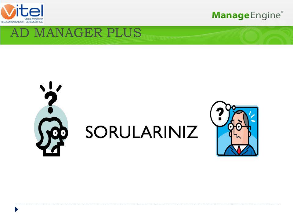 SORULARINIZ AD MANAGER PLUS