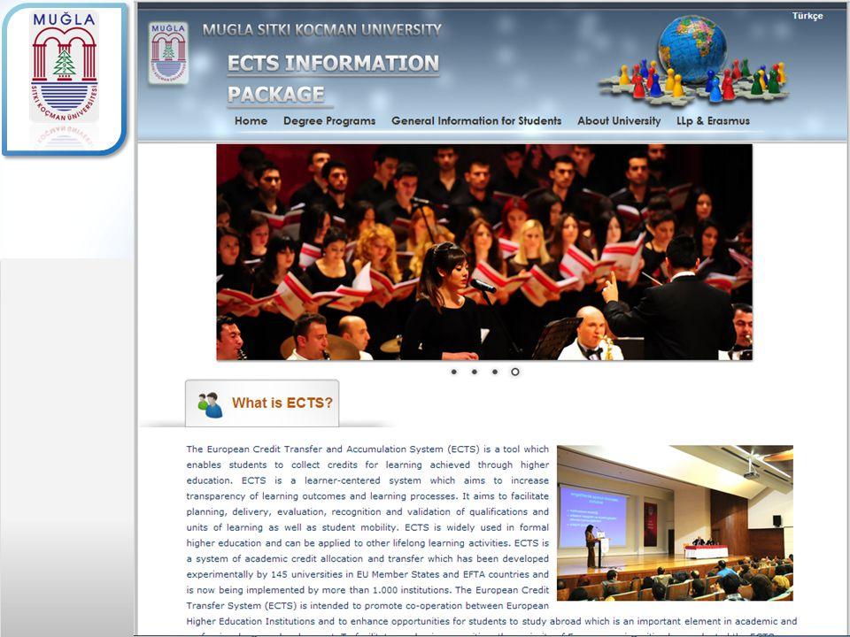 Kaynaklar ve Dersin Yetkilileri ara yüzünde bilgiler Türkçe ve İngilizce olarak girilebilmektedir.
